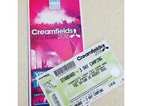 Creamfields 3 day standard !