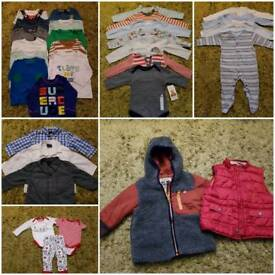 6-9 months boy bundle (70+ items)