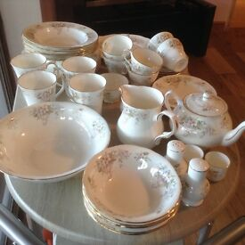 48 pieces of Duchess Lansbury bone china