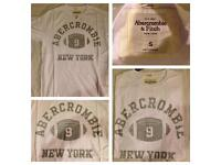 Abercrombie, Hollister, Ralph Lauren MEN TEES & Polos **60 units available!! wholesale ONLY**