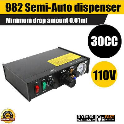 Semi-automatic Solder Paste Glue Dropper Liquid Dispenser Unit Controller 982
