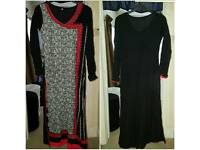 Red kurta full with embroidery size xs / s