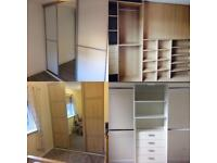 GMcB Joinery specialise in fitted/bespoke/sliding wardrobes. Fencing, Decking and all joinery work.