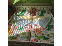 Ikea kritter junior bed x2 and matresses