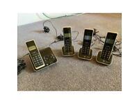 BT Xenon 4 landline phone set