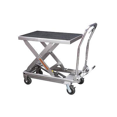 1000 Lbs. Capacity Hydraulic Table Cart- New - No Tax - Free Truck Ship To 48 St