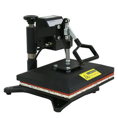 "12""x10"" Combo T-Shirt Heat Press Transfer Machine Sublimation Swing Away"