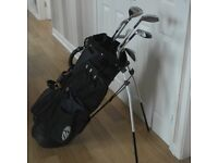 Ladies Golf clubs, bag and trolley for sale
