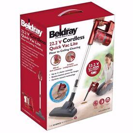 Beldray quick lite 22.2v Cordless Vacuum