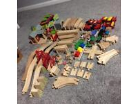 Early Xmas Bargain! Wooden Railway