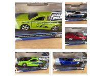 Collection/Bundle of: 5 x 1:32 Fast and Furious Models. FREE POSTAGE To UK ADDRESSES!