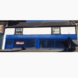 Newly build unit shop convenience store to rent 2800sq ft newmilns potential weekly sales £25,000+