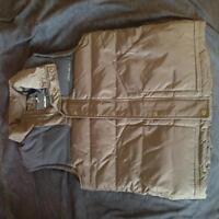 New Eddie Bauer medium winter/spring vest