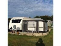 2014 Adria Adora Danube touring caravan