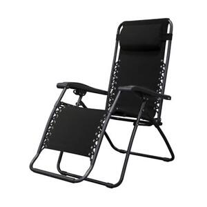 (3 AVAILABLE) New Caravan Sports Infinity Zero Gravity Chair, Black PICKUP ONLY - x2 PU7, x1 DI11
