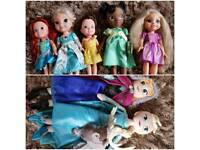 Disney princess toddler dolls and frozen plush dolls