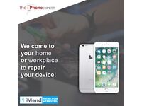 Mobile phone and tablet repair specialist. We come to you wherever you are!