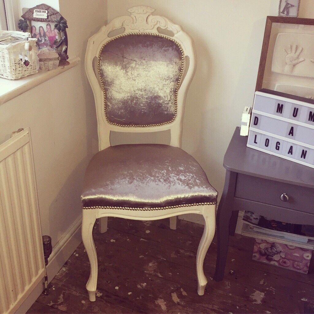 Beautiful French style bedroom chair