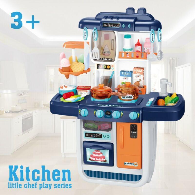 35Pcs Kitchen Play Set Pretend Baker Kids Toy Cooking Playse