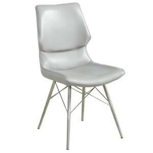 2PK Light Grey Side Chair Sale-WO 7704 (BD-2575)