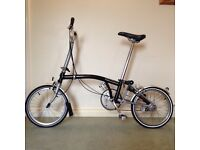 BROMPTON M3L FOLDING CYCLE FOR SALE ��600
