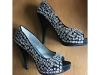 Sparkly party shoes size 5/6