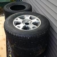 firstone winterforce 275 65 R18 on F150 rims