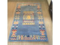 Rugs for sale. Blue 148 x 90 cms