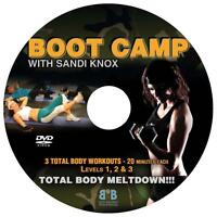 BOOT CAMP TRAINING IN YOUR OWN HOME!!!