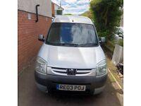 Peugeot, PARTNER COMBI, MPV, 2003, Manual, 1868 (cc), 5 doors