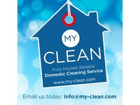 Cleaners Required - £9ph. Fast Growing, Friendly, Domestic Cleaning Company