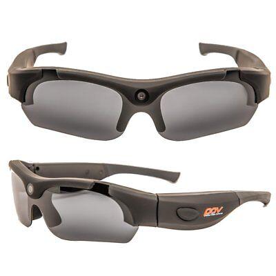 POV PRO24 Black Standard Definition 480p Video Glasses