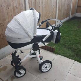 Adamex pajero stroller