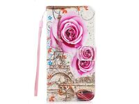 Flip Stand PU Leather Case Cover with Card Slots Lanyard For Samsung S5 MINI