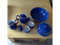 Denby Imperial Blue Table /Kitchenware .