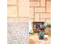 Decking, Patio & Driveway Cleaning: Jetwashing / Pressure Washing, Garden Maintenance & Van Services