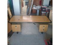 Vintage style office desk