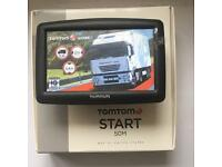 "Tom Tom XXL Truck With Large 5"" Screen, Latest Europe Truck Map, Boxed Like New, August 2017 !!!"