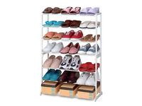 Great freestanding 21 pair of shoes rack!