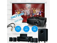 FULL HOME CINEMA PROJECTION SYSTEM - SPECIAL OFFER