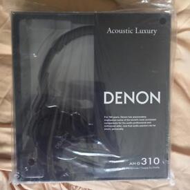 DENON Headphones - AH-D310 Black
