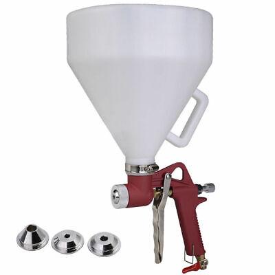Air Hopper Spray Gun 1.5 Gallon Ceiling Wall Texture Paint Drywall W 3 Nozzles