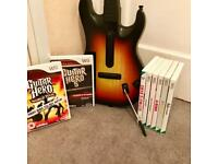 Wii Games And Guitar Hero
