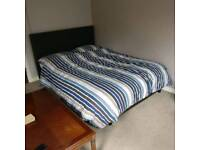 Double bed dark brown for Sale!