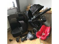 iCandy Peach 3 Blossom Double Pushchair Plus Extras!