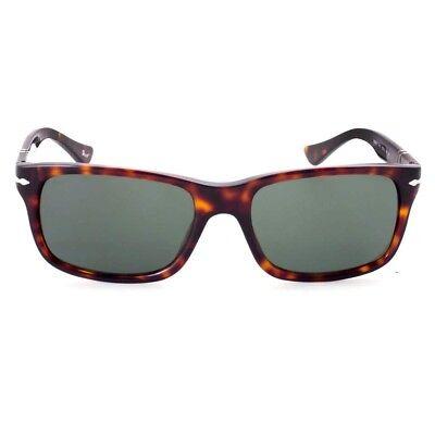 NWT Persol Sunglasses PO 3048S 24/31 Havana / Gray Green 58 mm PO3048S 2431 (Persol Sunglasses Havana)