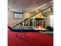 EXPERIENCED Camera Crane Jib Operator for Freelance   Weddings   Photography   Cinematography
