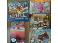 NEW DISNEY PUZZLES AND GAMES