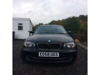 BMW 118d - Black - Efficient - £30 per year road tax