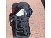 Baby Jogger compact carrycot carry cot